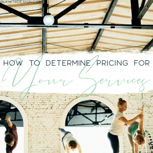 how to determine pricing for your services for wellpreneurs